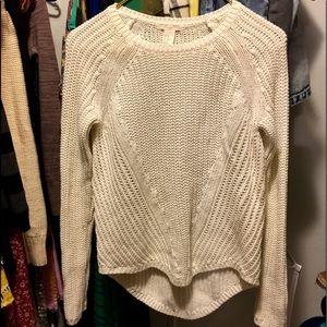 H&M cream colored sweater!
